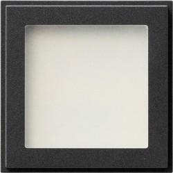 TX_44 Светодиодный указатель для ориентации синего цвета, антрацит