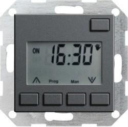 Таймер Gira SYSTEM 55, электронный, антрацит, 117528