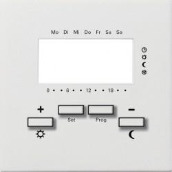 Накладка на термостат Gira F100, белый глянцевый, 1469112