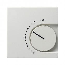 Накладка на термостат Gira SYSTEM 55, белый глянцевый, 149003
