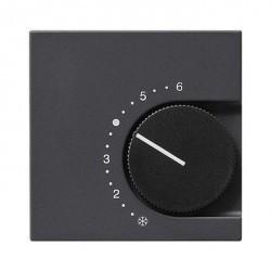 Накладка на термостат Gira SYSTEM 55, антрацит, 149028