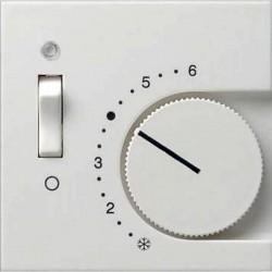 Накладка на термостат Gira SYSTEM 55, кремовый глянцевый, 149201