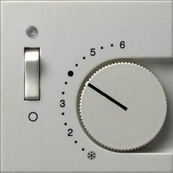 Накладка на термостат Gira SYSTEM 55, белый глянцевый, 149203