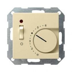 Накладка на термостат Gira SYSTEM 55, кремовый глянцевый, 149401