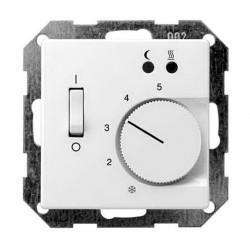Накладка на термостат Gira SYSTEM 55, белый глянцевый, 149403