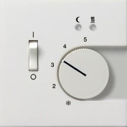 Накладка на термостат Gira F100, белый глянцевый, 1494112