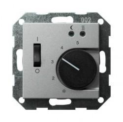 Накладка на термостат Gira SYSTEM 55, алюминий, 149426