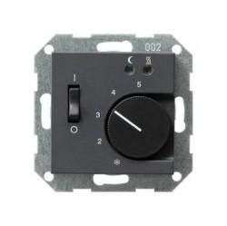 Накладка на термостат Gira SYSTEM 55, антрацит, 149428