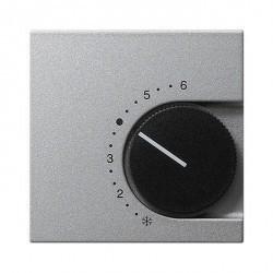 Накладка на термостат Gira SYSTEM 55, алюминий, 149626