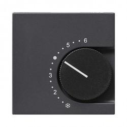 Накладка на термостат Gira SYSTEM 55, антрацит, 149628