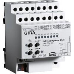 KNX Исполнительное устройство отопления 6-местн.