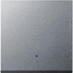 Клавиша Gira SYSTEM 55, алюминий, 226126