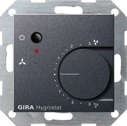 Термостат комнатный Gira SYSTEM 55, антрацит, 226528