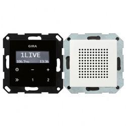 System55 Радиоприемник скрытого монтажа с функцией RDS, глянцевый белый