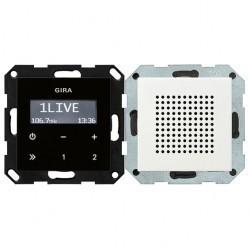 System55 Радиоприемник скрытого монтажа с функцией RDS, матовый белый