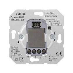 Механизм клавишного светорегулятора Gira Коллекции GIRA, 420 Вт, 238500