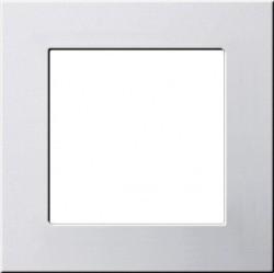 F100 Монтажная рамка, глянцевый белый