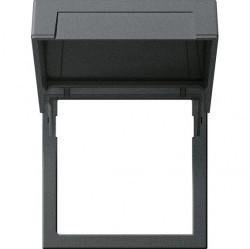 System55 E22 Монтажная рамка с крышкой, алюминий