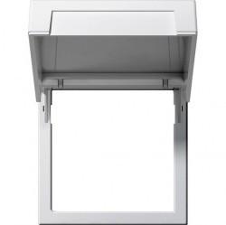 System55 Монтажная рамка с крышкой, матовый белый