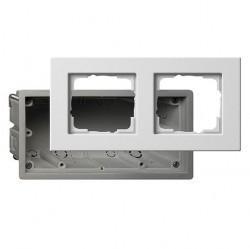 E22 Монтажный набор для установки заподлицо Thermoplast, глянцевый белый