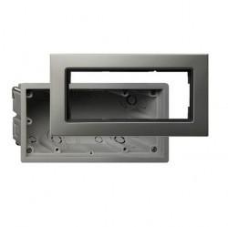 E22 Монтажный набор для установки заподлицо Edelstahl, алюминий