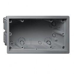 E22 Монтажная коробка 2-ная для установки заподлицо