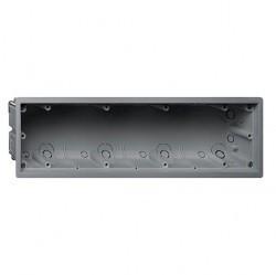 E22 Монтажная коробка 4-ная для установки заподлицо