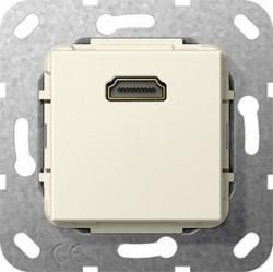 Розетка HDMI Gira SYSTEM 55, бежевый, 567001
