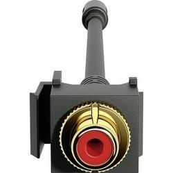 Аудио-розетка Gira коллекции Gira, красный, 574200