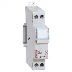 Разъединитель-держатель предохранителей - 1П+Н - миниатюрные цилиндрические бытовые предохранители -