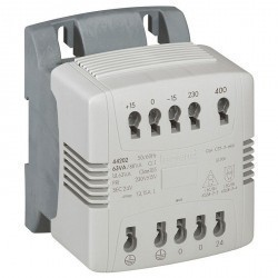 Однофазный трансформатор упр, и обеспеч, безопасности - первичная обмотка 230/400 В / вторичная обмо