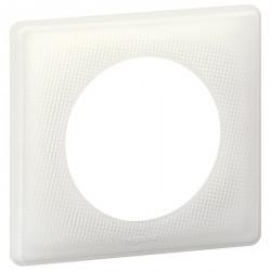 Рамка 1 пост Legrand CELIANE, белый муар, 066640