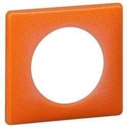 Рамка 1 пост Legrand CELIANE, оранжевый муар, 066651