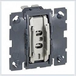 Механизм переключателя 1-клавишного Legrand CELIANE, с возможностью подсветки, скрытый монтаж, 067001