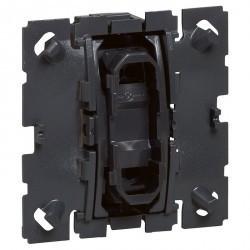Механизм выключателя 1-клавишного Legrand CELIANE, скрытый монтаж, 067002