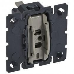 Механизм выключателя 1-клавишного кнопочного Legrand CELIANE, скрытый монтаж, 067032