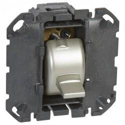 Механизм выключателя 1-клавишного Legrand CELIANE, скрытый монтаж, 067036