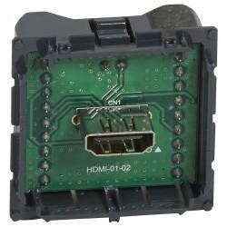 Розетка HDMI Legrand CELIANE, серебристый, 067317