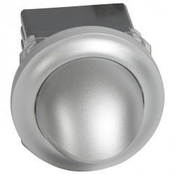 Светильник точечный (спот) регулируемый 360°, 2,8Вт 230В~, хром матовый