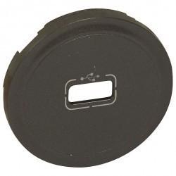 Накладка на розетку USB Legrand CELIANE, графит, 067950