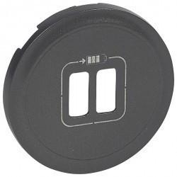 Накладка на розетку USB Legrand CELIANE, графит, 067956