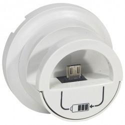 Накладка на розетку USB Legrand CELIANE, белый, 068210