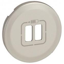 Накладка на розетку USB Legrand CELIANE, белый, 068256