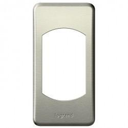 Рамка 1 пост Legrand CELIANE, титан, 068900