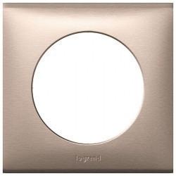 Рамка 1 пост Legrand CELIANE, слюда розовая, 068941
