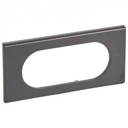 Рамка 4/5 модулей Legrand CELIANE, черный никель, 069035