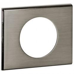 Рамка 1 пост Legrand CELIANE, фактурная сталь, 069101
