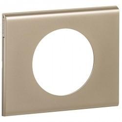 Рамка 1 пост Legrand CELIANE, никель велюр, 069111