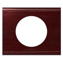 Рамка 1 пост Legrand CELIANE, кожа классик темно-коричневая, 069291