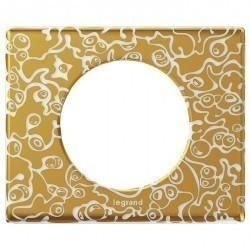 Рамка 1 пост Legrand CELIANE, фарфор золотая феерия, 069331